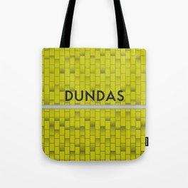 DUNDAS | Subway Station Tote Bag