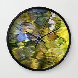 Sycamore Mosaic Abstract Art Wall Clock