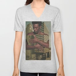 embracing us Unisex V-Neck
