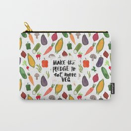 Make The Pledge To Eat More Veg! Carry-All Pouch