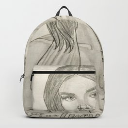 Lucy Hale by Ryan Reynolds Backpack