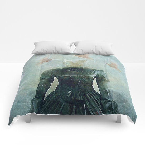 Surrealist nest Comforters