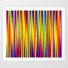 Lines 17 Art Print