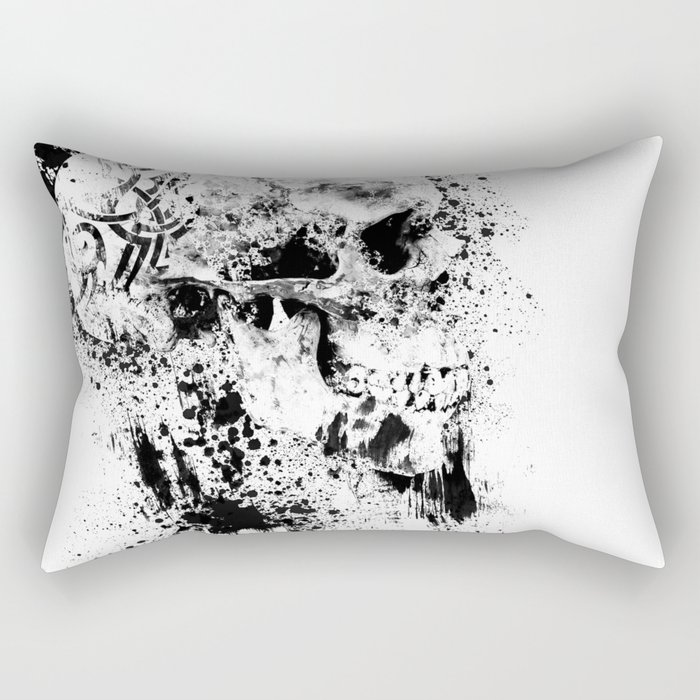 Broken Bones Rectangular Pillow