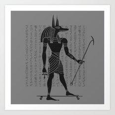 Ancient Dogtown Art Print
