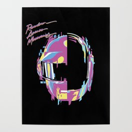Daft Punk - RAM Remix Poster
