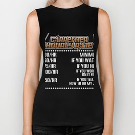 Carpenter Shirt For Dad/Grandpa. Biker Tank