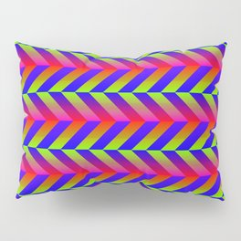 Zig Zag Folding Pillow Sham