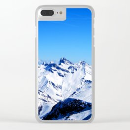 Cool Himalaya Clear iPhone Case