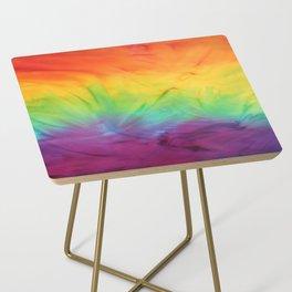 Tie Dye Side Table