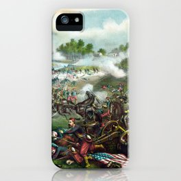 Battle Of Bull Run -- Civil War iPhone Case