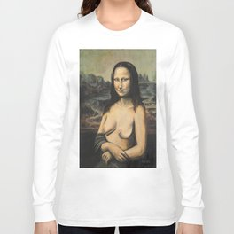 Moaner Lisa Long Sleeve T-shirt