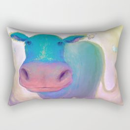The Greatest Moo Rectangular Pillow