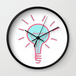 Jugaad - Conquer the World With Creativity, Ideas & Innovation Wall Clock
