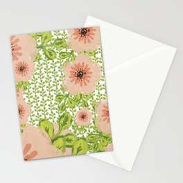 Flowers everywher Stationery Cards