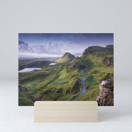 The Road to the Quiraing Mini Art Print