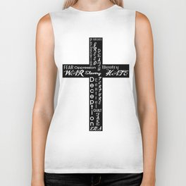 An Honest Cross Biker Tank