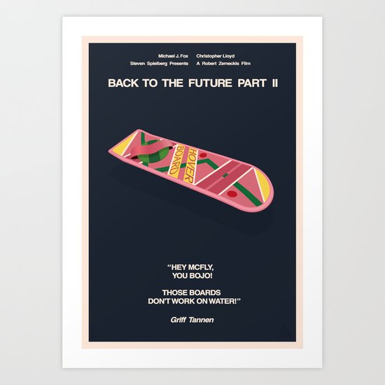 Back To The Future Part II Art Print