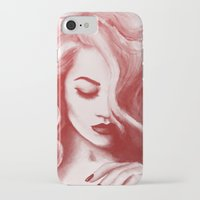 wasted rita iPhone & iPod Cases featuring RITA by F. J. Lara