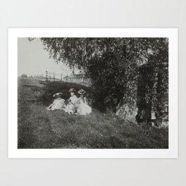 1900 Family Portrait Art Print