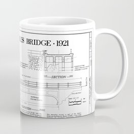 Old Happy Isles Bridge 1921 Coffee Mug