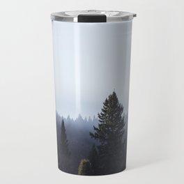 Wanderlusting within the trees Travel Mug