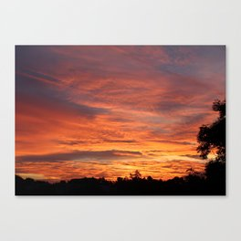 Rothenburg ob der Tauber Sunrise Canvas Print