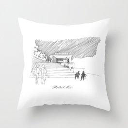 Richard Meier Throw Pillow