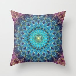 Protected & Wise Throw Pillow
