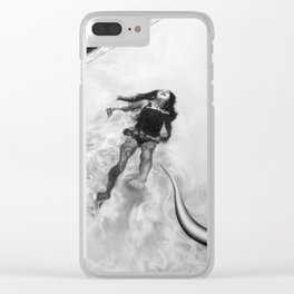 all the time I was in florida i never went outside, i just tested the water Clear iPhone Case