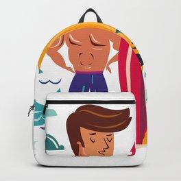 Summer Surfin' Backpack