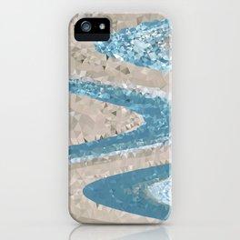 Ocean Geometric iPhone Case