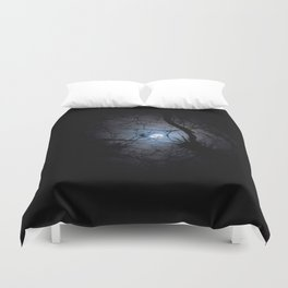 Everglades Moon Duvet Cover