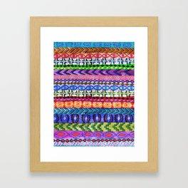Peru Stripe II Framed Art Print