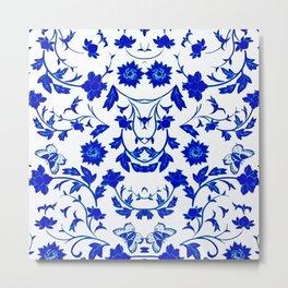 Velasco Blue - 2 Metal Print