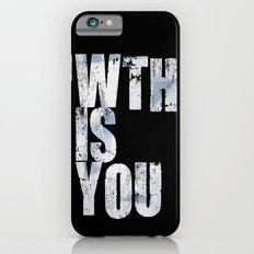 WTHISYOU Slim Case iPhone 6s