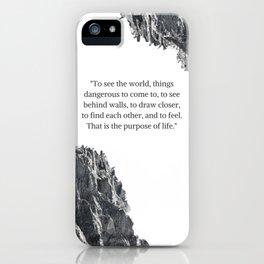 PURPOSE. iPhone Case