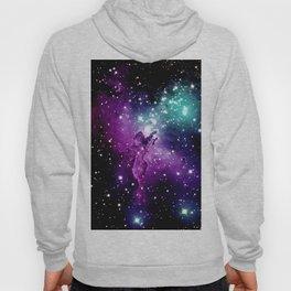 Eagle Nebula purple blue teal Hoody