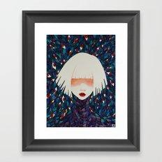 M#1 Framed Art Print