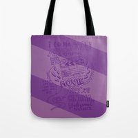 cinema Tote Bags featuring CINEMA by Insait Disseny