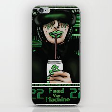 Feed Your Machine  iPhone & iPod Skin
