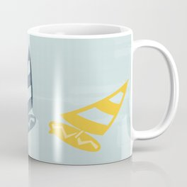 Surfing Dreamy Misty Minty Coffee Mug