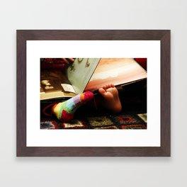 (bare)feet Framed Art Print