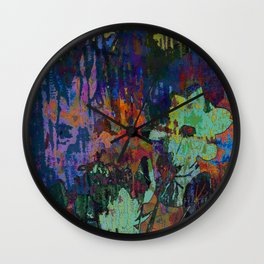 Bring some color into your life! Wall Clock