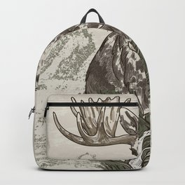 Guardian of the Hinterland (moose) Backpack
