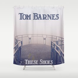Tom Barnes These Shoes Shower Curtain