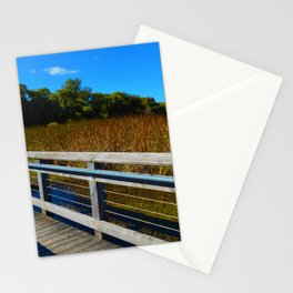 Point Pelee National Park Boardwalk in Leamington ON Canada Stationery Cards