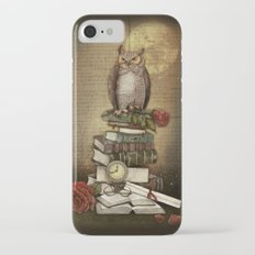 The Bibliophile - (the lover of books) iPhone 7 Slim Case