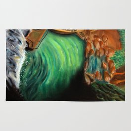 Over the falls Rug