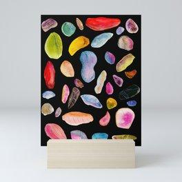 Gem Stones Mini Art Print